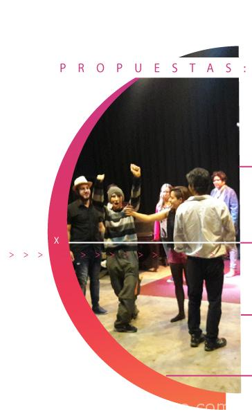 teatro en tu empresa. Teatro. Escuela de teatro Pánico Escénico. Clases de teatro. Barrio Palermo. Teatro para tímidos. Clases de actuación. Servicios para empresas. Motivación del personal.